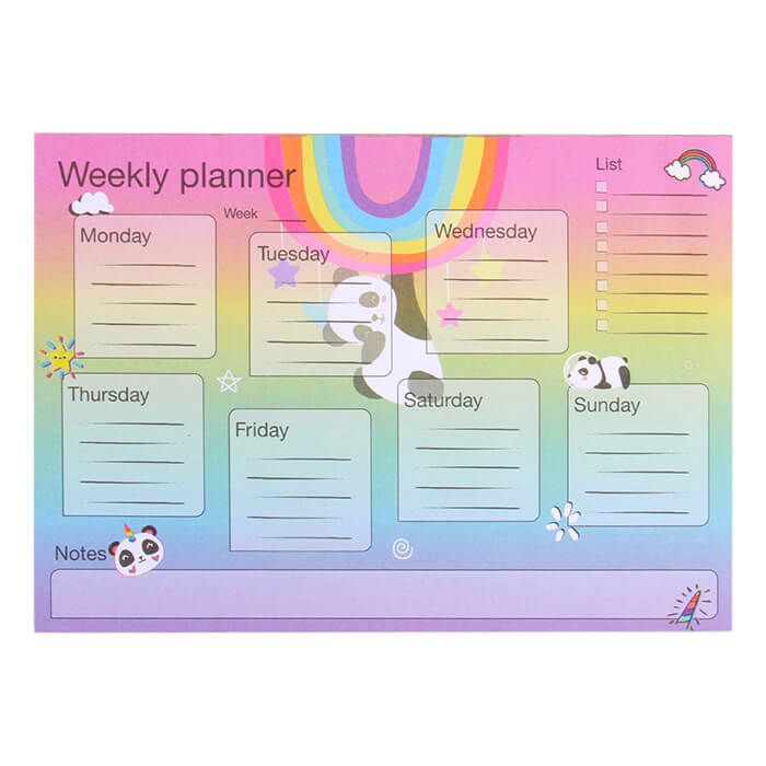 Weekly Magnetic Notebook