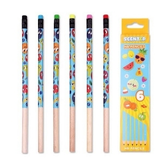 Scented Graphite Pencils - Set of 6