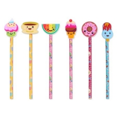 Candy Collection Wooden Pencils