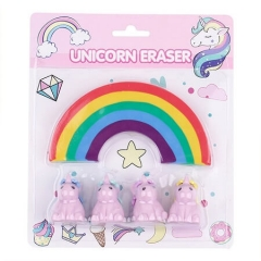 Unicorn & Rainbow Eraser