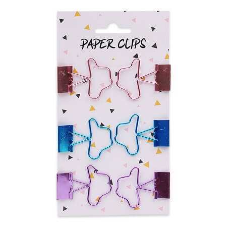 Binder Clips - 6 Pack