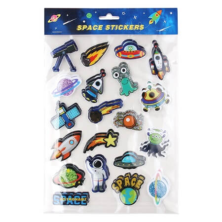 Outer-Space Stickers