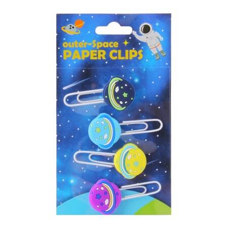 4 Pcs Paper Clips Set