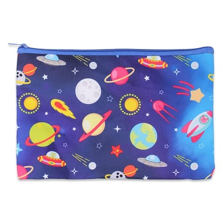 Galaxy Zippered Pencil Bag
