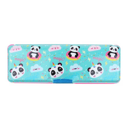 Two Sided Pencil Case - Panda