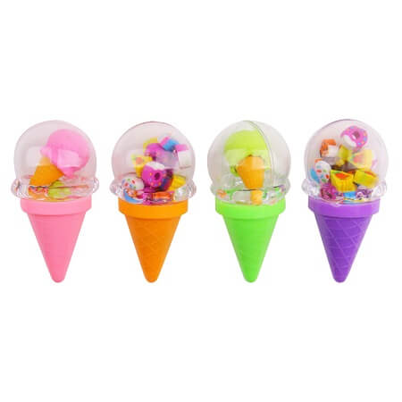 Ice Cream Cone Erasers