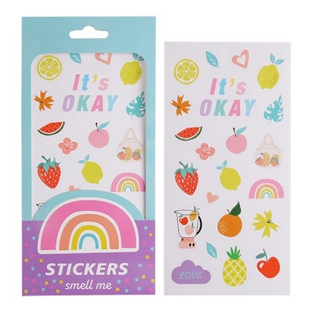 Scented Stickers - 2 Sheets
