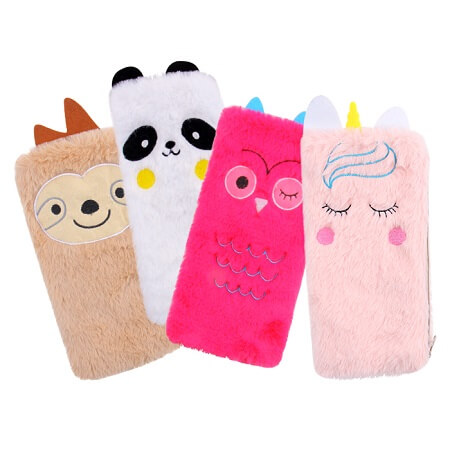 Plush Animal Pencil Case